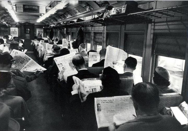 Teknologien har alltid vært flat.